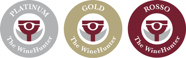 The WineHunter Award ROSSO GOLD PLATINUM